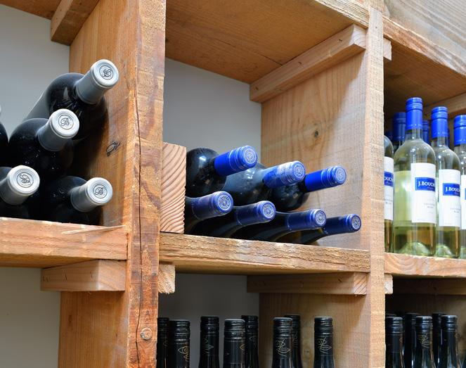 Sotto lounge heeft toegang tot de meest unieke wijnkelder van