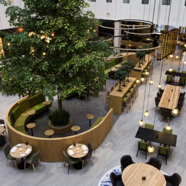 interieur design Novotel Amsterdam