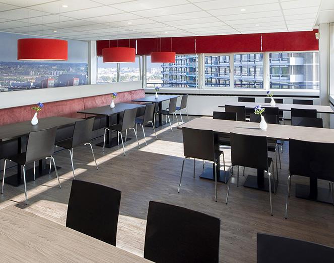 Bedrijfsrestaurant inrichting Markus Verbeek Rotterdam door