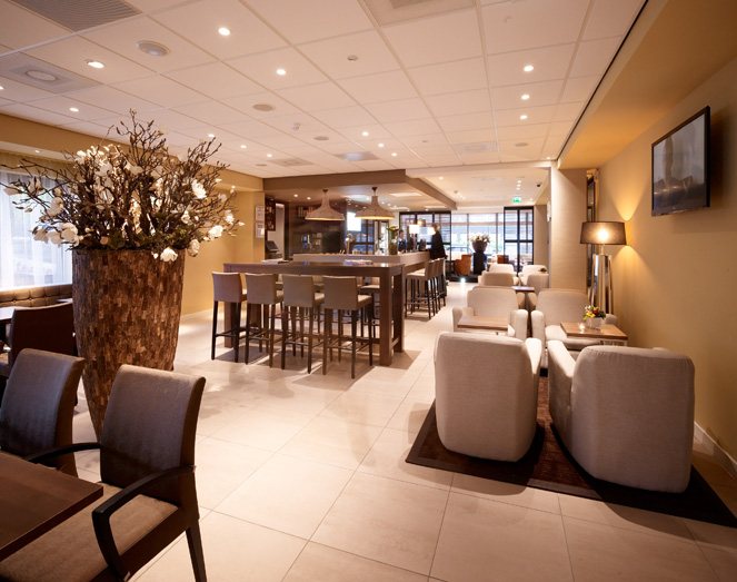 horeca interieur ontwerp holiday inn express amsterdam
