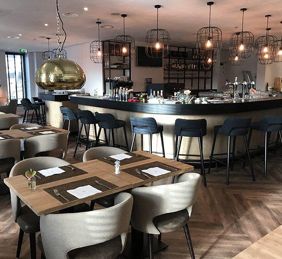 Horeca inrichting restaurant NH Den Haag