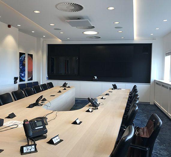 ESA Estec Noordwijk Meuviro Interieurbouw Breda