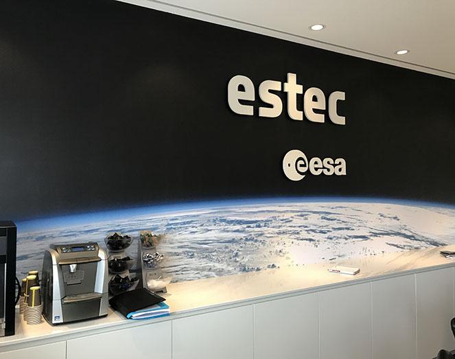 ESA Estec Noordwijk Meuviro Interieurbouw