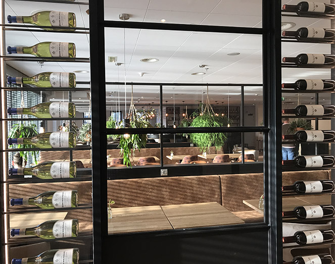 Horeca inrichting restaurant Meuviro Breda